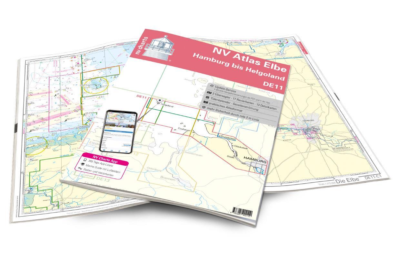 NV Atlas Elbe DE11 - Helgoland bis Hamburg