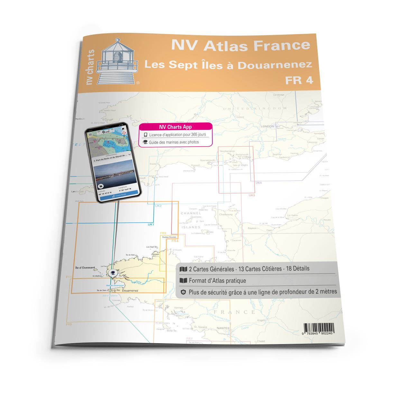 NV Atlas France - FR4 - Les Sept Îles à Douarnenez