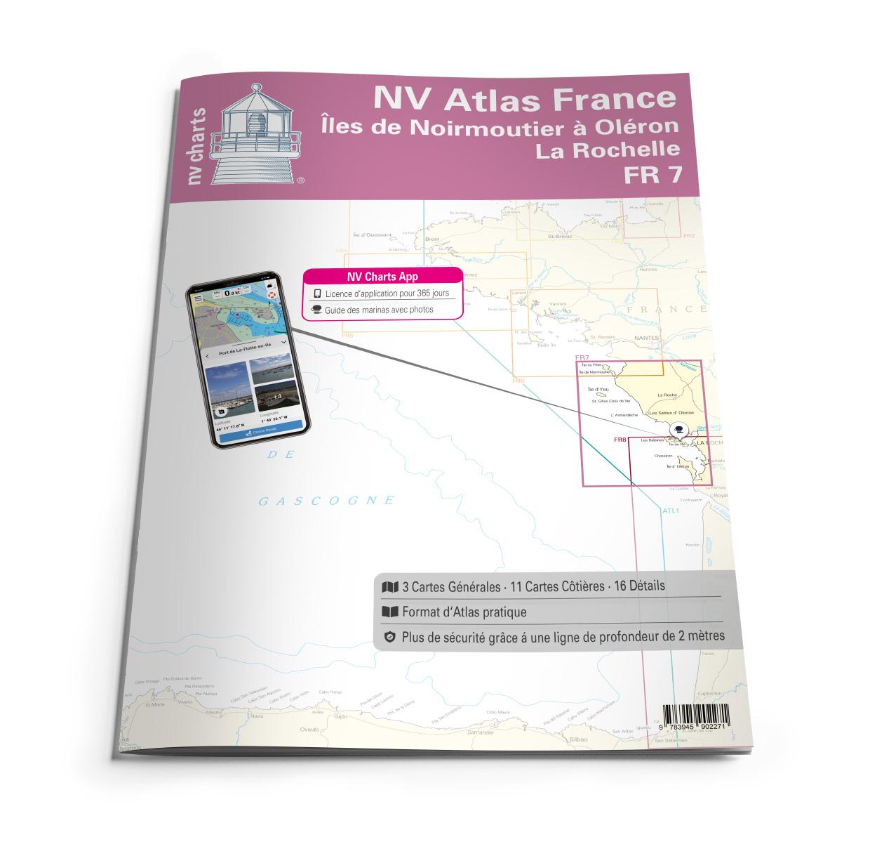 NV Atlas France - FR7 - Îles de Noirmoutier à Oléron - La Rochelle