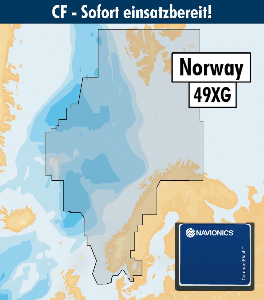 Navionics+ CF 49XG Norwegen (Norge Norway)