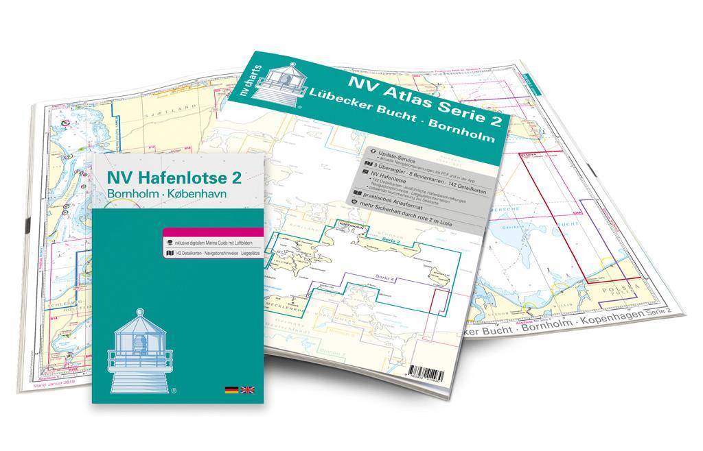 NV Kartenkoffer Kattegat Serie 1, 2, 3, 5.1, 5.2