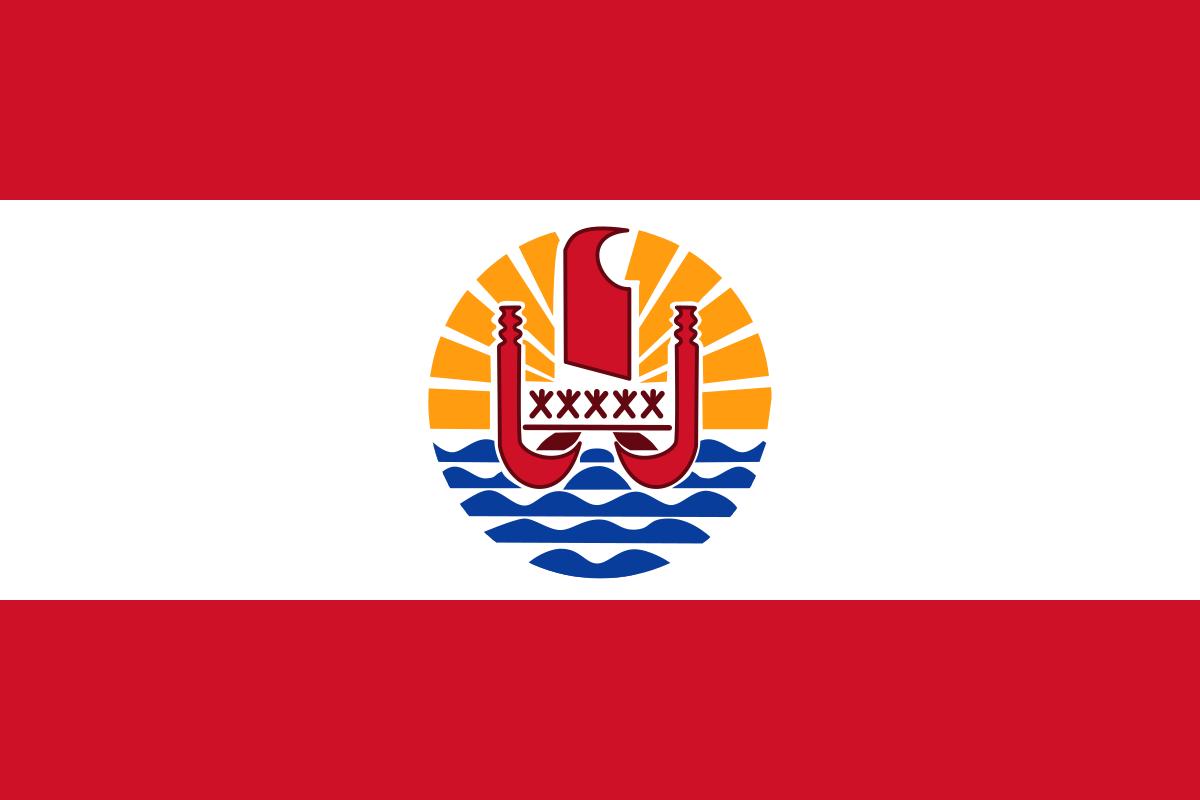 Flagge Französisch Polynesien