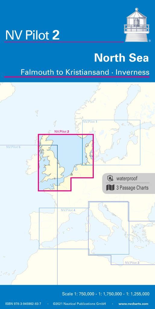 NV Pilot 2, North Sea - Falmouth to Kristiansand - Inverness