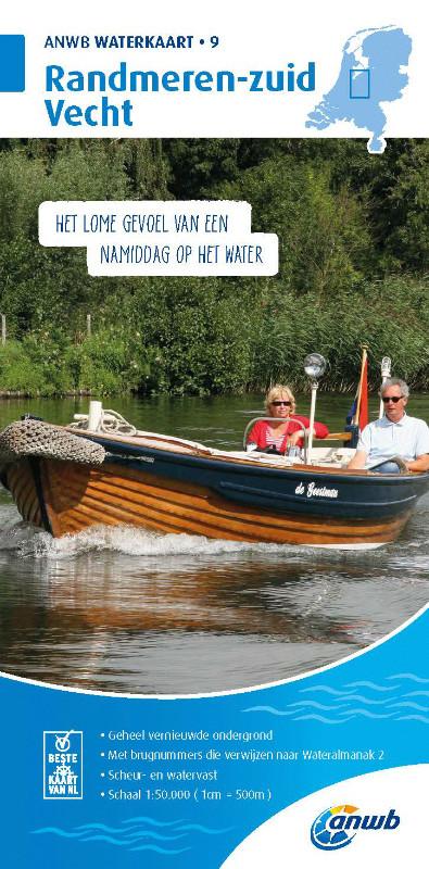 ANWB Waterkaart 9 - Randmeren-Zuid/Vecht