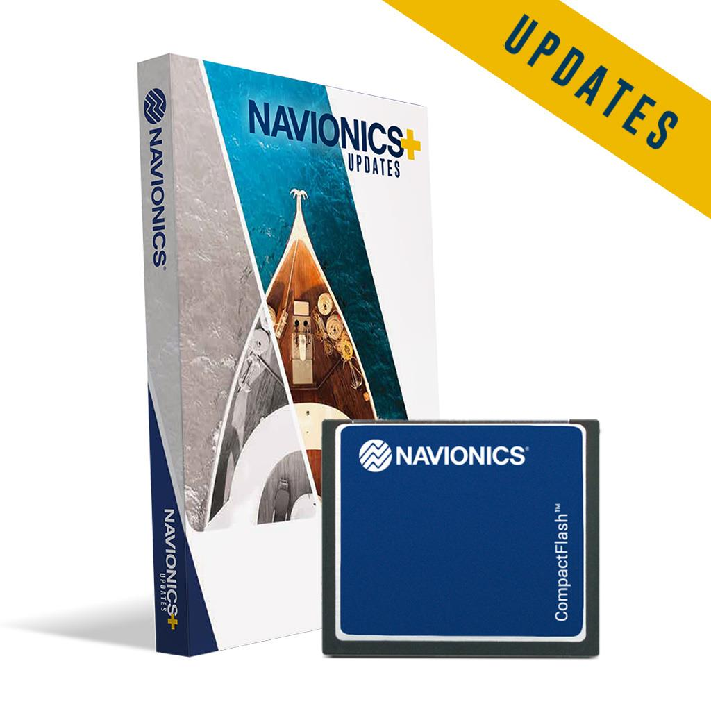 Navionics+ CF Updatekarte (blank)