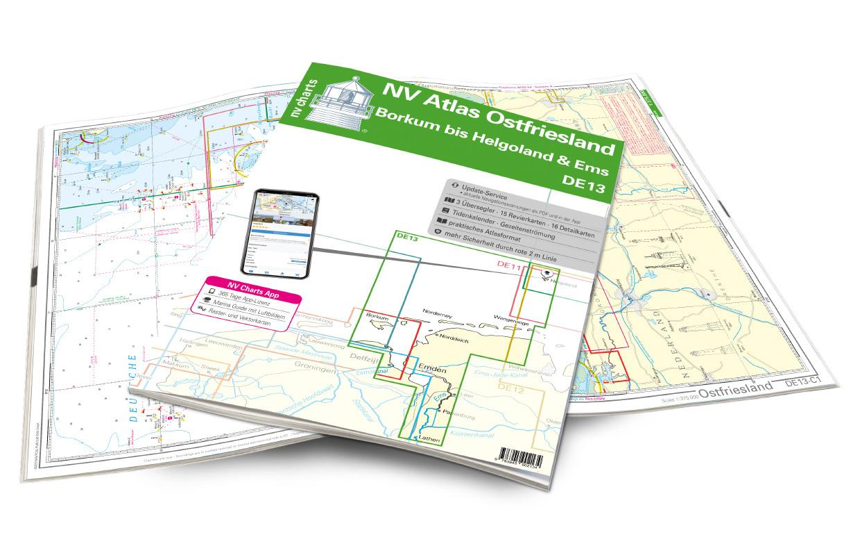 NV Atlas Ostfriesland DE13 - Borkum bis Helgoland & Ems