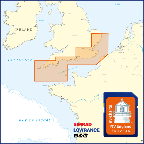 Carte pour traceurs Angleterre