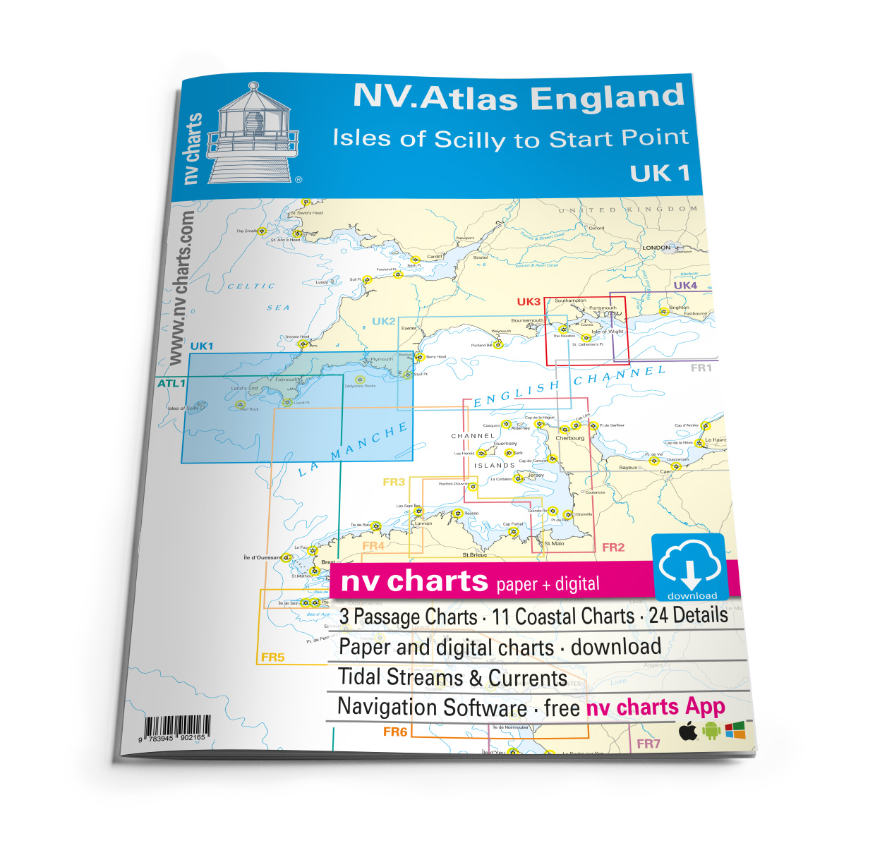 NV Atlas UK1 Scilly Isles to Start Point