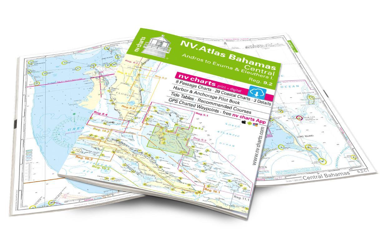 NV Atlas 9.2, Bahamas Central, Andros to Exumas & Eleuthera Islands