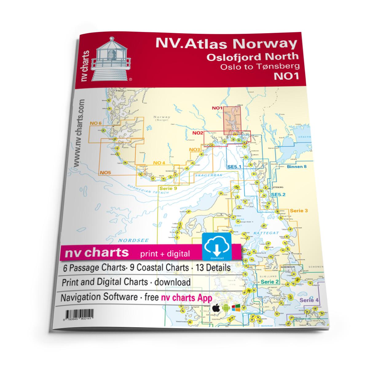 NV Atlas Norway NO1 Oslofjord Nord - Oslo til Tønsberg