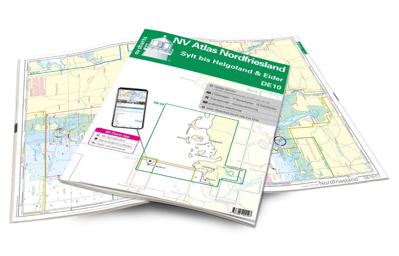 NV Atlas Nordfriesland DE10 - Sylt bis Helgoland & Eider