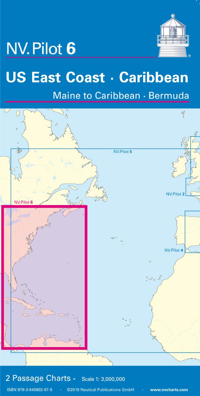 NV Pilot 6, US East Coast, Maine to Caribbean • Bermuda