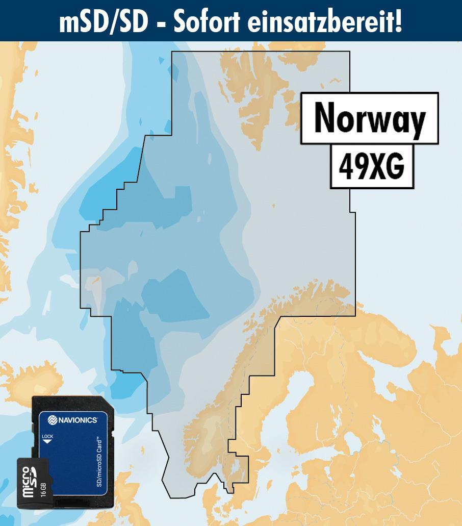 Navionics+ 49XG Norwegen (Norge Norway) mSD
