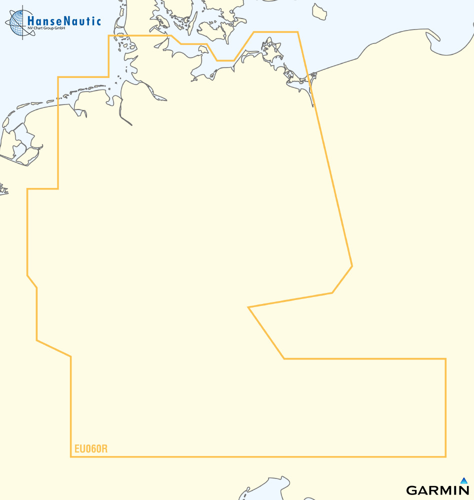 BlueChart g3 Vision Chip Regular VEU060R-Germany Inland Waters