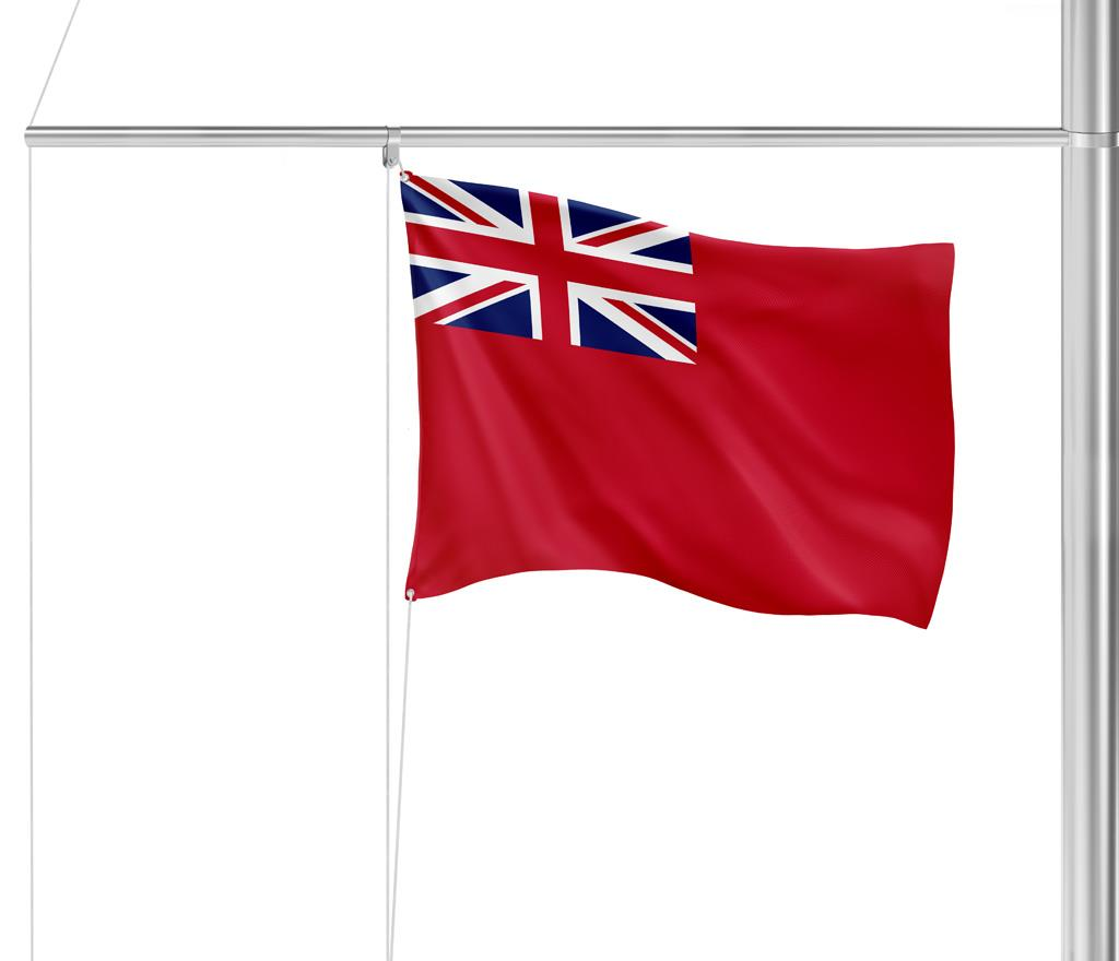 Drapeau Royaume-Uni (red ensign)